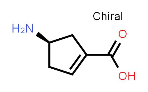 (R)-4-Aminocyclopent-1-enecarboxylic acid