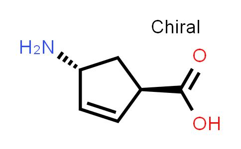 (1R,4R)-4-Aminocyclopent-2-enecarboxylic acid
