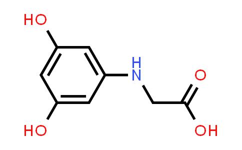 2-((3,5-Dihydroxyphenyl)amino)acetic acid