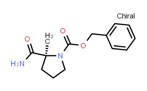 (S)-Benzyl 2-carbamoyl-2-methylpyrrolidine-1-carboxylate