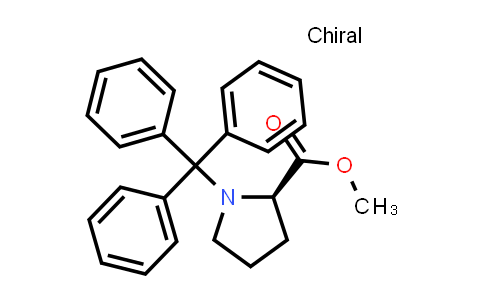 (R)-Methyl 1-tritylpyrrolidine-2-carboxylate