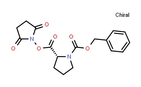 (R)-1-Benzyl 2-(2,5-dioxopyrrolidin-1-yl) pyrrolidine-1,2-dicarboxylate