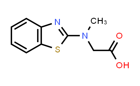 2-(Benzo[d]thiazol-2-yl(methyl)amino)acetic acid
