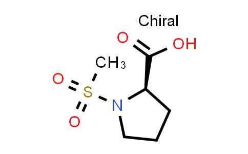 (R)-1-(Methylsulfonyl)pyrrolidine-2-carboxylic acid