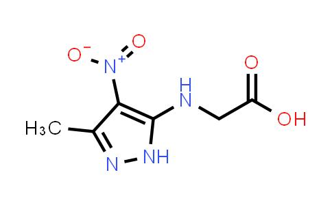 2-((3-Methyl-4-nitro-1H-pyrazol-5-yl)amino)acetic acid