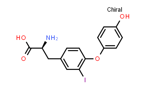 (S)-2-Amino-3-(4-(4-hydroxyphenoxy)-3-iodophenyl)propanoic acid