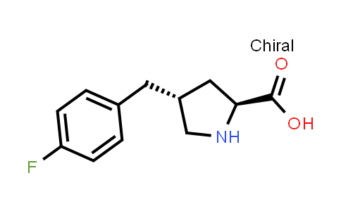 (2S,4R)-4-(4-Fluorobenzyl)pyrrolidine-2-carboxylic acid