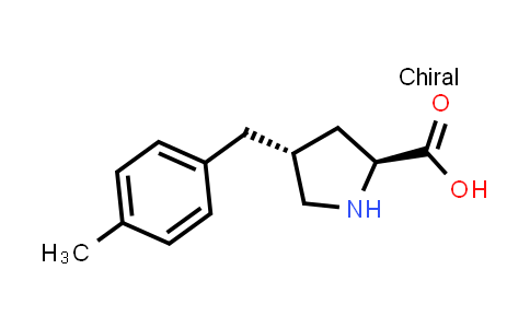 (2S,4R)-4-(4-Methylbenzyl)pyrrolidine-2-carboxylic acid