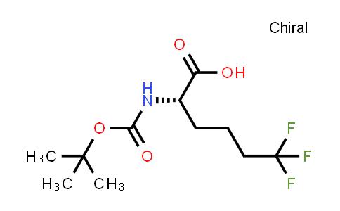 (S)-2-((tert-Butoxycarbonyl)amino)-6,6,6-trifluorohexanoic acid