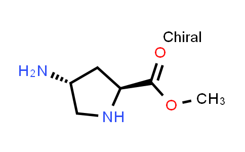 (2S,4R)-Methyl 4-aminopyrrolidine-2-carboxylate