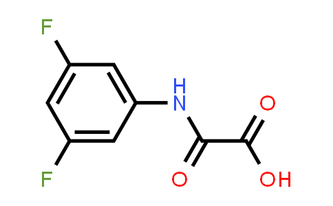 2-((3,5-Difluorophenyl)amino)-2-oxoacetic acid