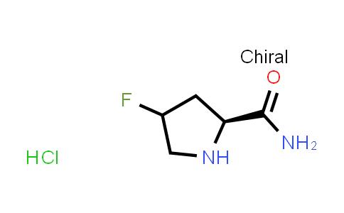 (2S)-4-Fluoropyrrolidine-2-carboxamide hydrochloride