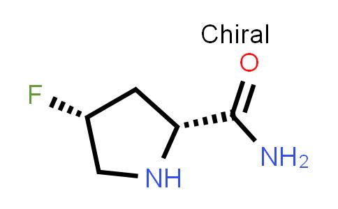(2R,4R)-4-Fluoropyrrolidine-2-carboxamide
