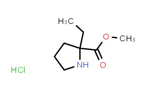 Methyl 2-ethylpyrrolidine-2-carboxylate hydrochloride