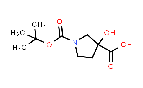 1-(tert-Butoxycarbonyl)-3-hydroxypyrrolidine-3-carboxylic acid