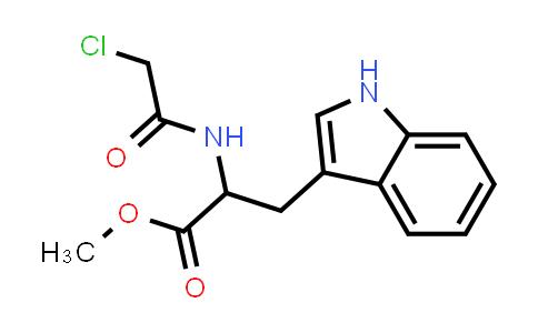 Methyl 2-(2-chloroacetamido)-3-(1H-indol-3-yl)propanoate