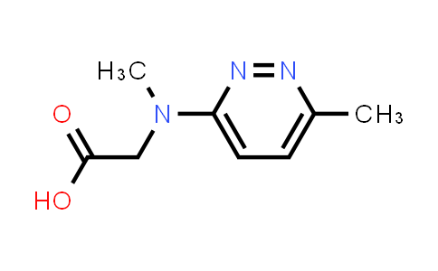 2-(Methyl(6-methylpyridazin-3-yl)amino)acetic acid