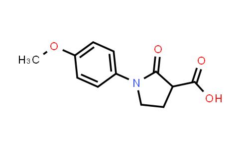 1-(4-Methoxyphenyl)-2-oxopyrrolidine-3-carboxylic acid