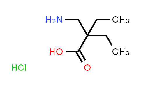 2-(Aminomethyl)-2-ethylbutanoic acid hydrochloride