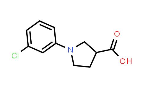 1-(3-Chlorophenyl)pyrrolidine-3-carboxylic acid