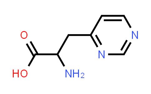 2-Amino-3-(pyrimidin-4-yl)propanoic acid