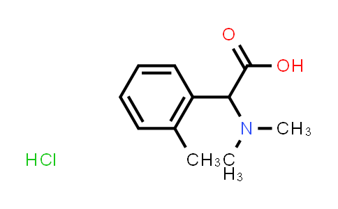 2-(Dimethylamino)-2-(o-tolyl)acetic acid hydrochloride