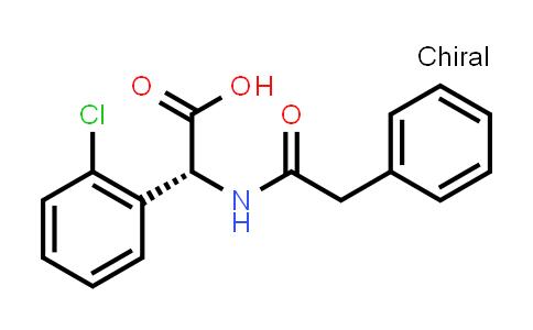 (R)-2-(2-Chlorophenyl)-2-(2-phenylacetamido)acetic acid