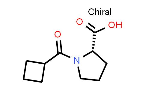 (S)-1-(Cyclobutanecarbonyl)pyrrolidine-2-carboxylic acid