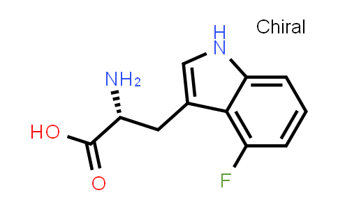 (R)-2-Amino-3-(4-fluoro-1H-indol-3-yl)propanoic acid