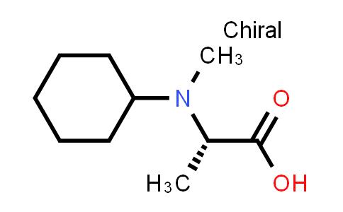 (S)-2-(Cyclohexyl(methyl)amino)propanoic acid