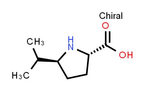 (2S,5S)-5-Isopropylpyrrolidine-2-carboxylic acid
