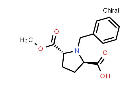 trans-1-Benzyl-5-(methoxycarbonyl)pyrrolidine-2-carboxylic acid