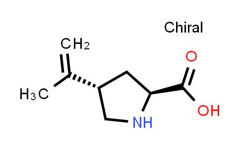 (2S,4S)-4-(Prop-1-en-2-yl)pyrrolidine-2-carboxylic acid