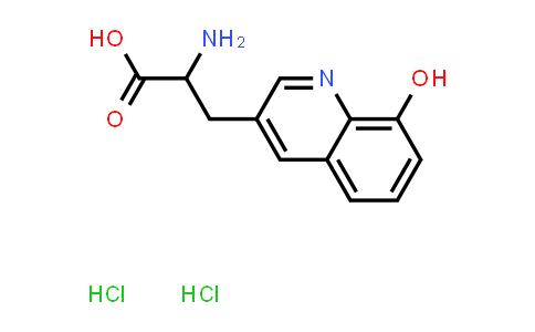 2-Amino-3-(8-hydroxyquinolin-3-yl)propanoic acid dihydrochloride