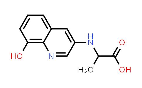 2-((8-Hydroxyquinolin-3-yl)amino)propanoic acid