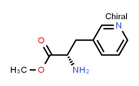 Methyl (S)-2-amino-3-(pyridin-3-yl)propanoate