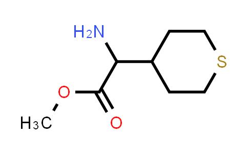 Methyl 2-amino-2-(tetrahydro-2H-thiopyran-4-yl)acetate
