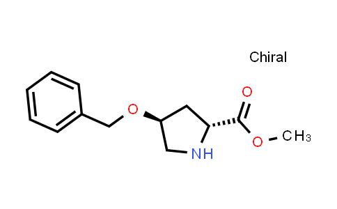 trans-Methyl 4-(benzyloxy)pyrrolidine-2-carboxylate