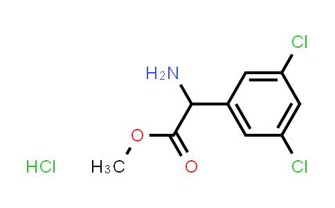 Methyl 2-amino-2-(3,5-dichlorophenyl)acetate hydrochloride