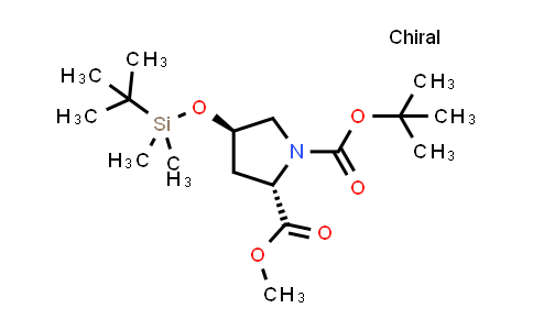 (2S,4R)-1-tert-Butyl 2-methyl 4-((tert-butyldimethylsilyl)oxy)pyrrolidine-1,2-dicarboxylate