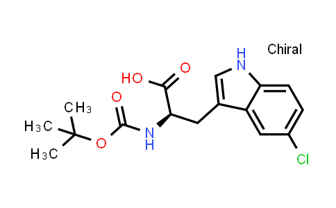 (R)-2-((tert-Butoxycarbonyl)amino)-3-(5-chloro-1H-indol-3-yl)propanoic acid