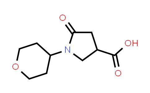 5-Oxo-1-(tetrahydro-2H-pyran-4-yl)pyrrolidine-3-carboxylic acid