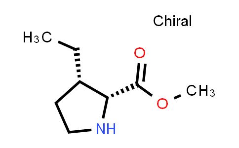 (2R,3S)-Methyl 3-ethylpyrrolidine-2-carboxylate