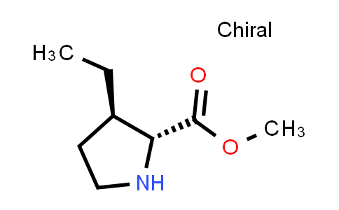 (2R,3R)-Methyl 3-ethylpyrrolidine-2-carboxylate