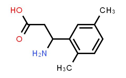 3-Amino-3-(2,5-dimethylphenyl)propanoic acid