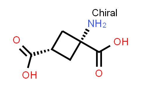 (1s,3s)-1-Aminocyclobutane-1,3-dicarboxylic acid