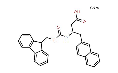 (S)-3-((((9H-Fluoren-9-yl)methoxy)carbonyl)amino)-4-(naphthalen-2-yl)butanoic acid