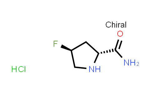(2R,4S)-4-Fluoropyrrolidine-2-carboxamide hydrochloride