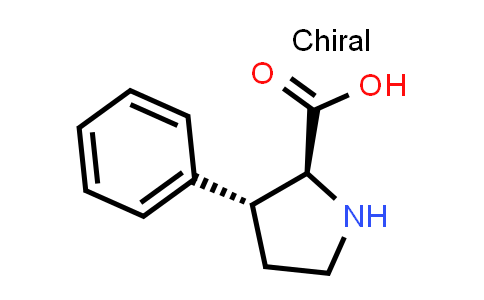 (2S,3R)-3-Phenylpyrrolidine-2-carboxylic acid