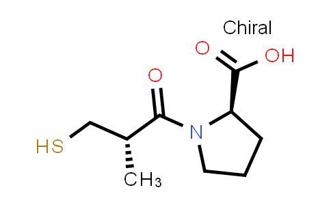 (R)-1-((S)-3-Mercapto-2-methylpropanoyl)pyrrolidine-2-carboxylic acid